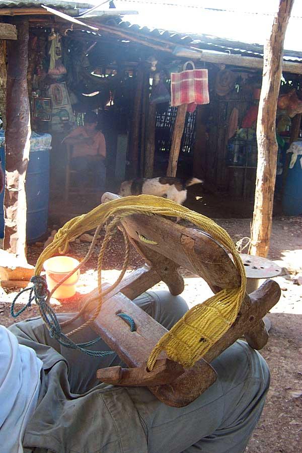 Handmade Burrow Saddle