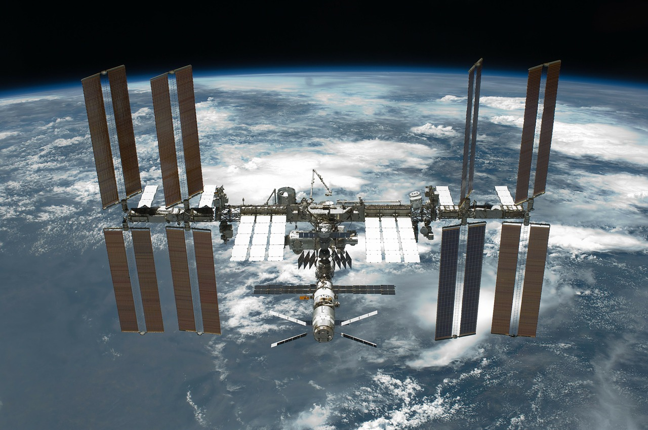 International Space Station, image courtesy of NASA